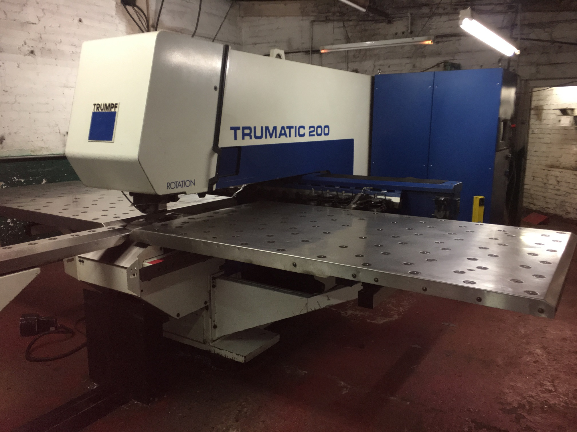 Now Sold - 2956 Trumpf Punch Press - Another available November 2018