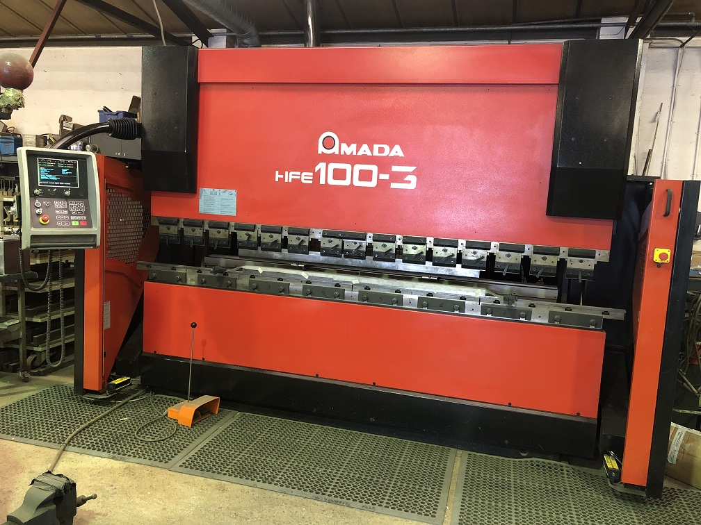 2518 Amada HFE 100 Ton x 3m Press Brake - Hours - 9,000