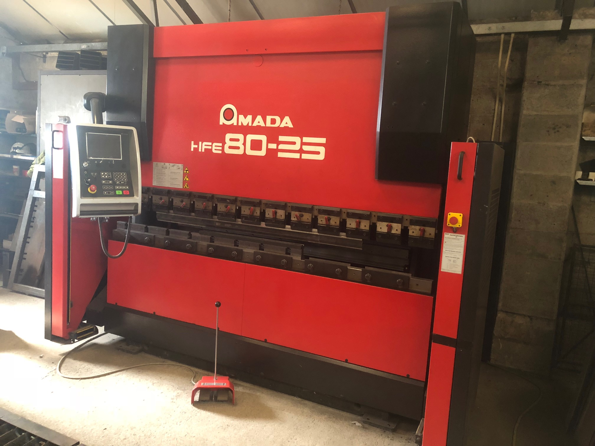 2519 Amada HFE 80 25 Press Brake - Hours 1,900