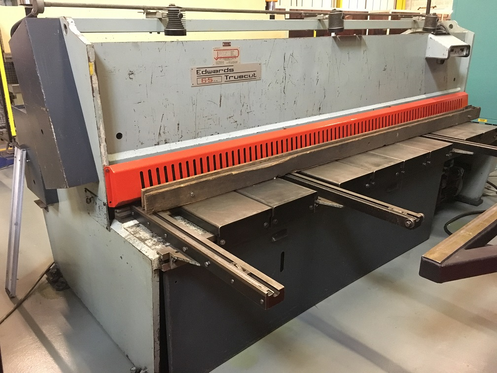 Edwards 3m x 6mm Guillotine - Choice of 2 Machines