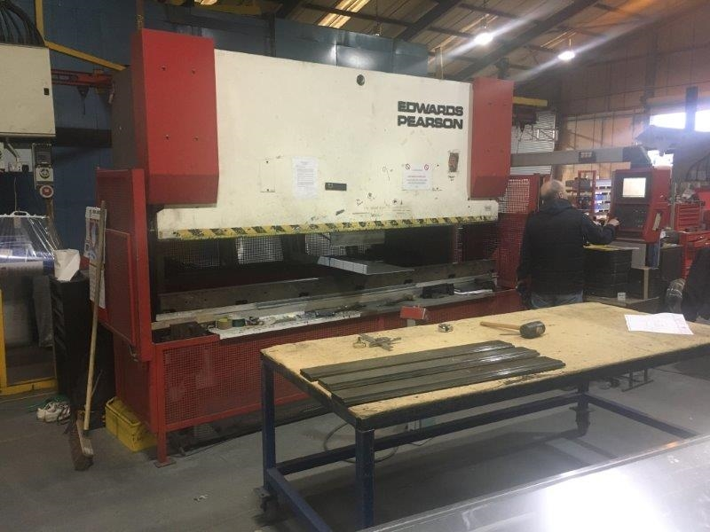 Edwards Pearson PR 6 100 Ton x 3m Press Brake