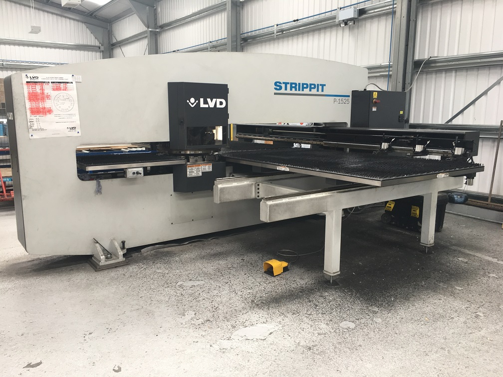 Now Sold -LVD Strippit P1525 Punch Press - Another available December 2018